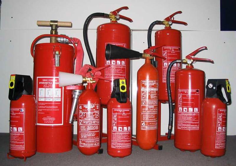 10 веществ-помощников при пожаротушении.