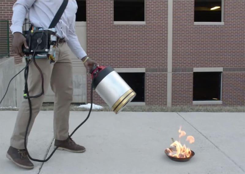 Инновации в технологии пожаротушения